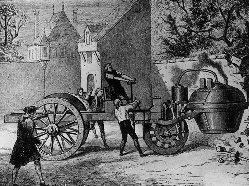 картинка первого автомобиля с паровым котлом можно подобрать каталога